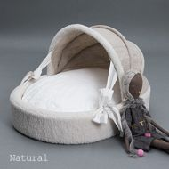 Irish Linen Cradle Natural