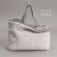 Teddy Fur Bag Ice Grey