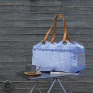 Tosho Bag Blue Stripe