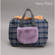 Furaround Bag Navy Check