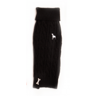 Cable Knit Black