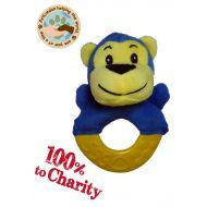 CHARITY Monkey Teething Ring