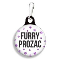 Furry Prozac Collar Charm