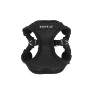 Soft Mesh 'C' Harness Black