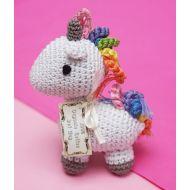 Organic Handmade Unicorn Dog Toy