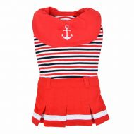 Nautical Dress Red