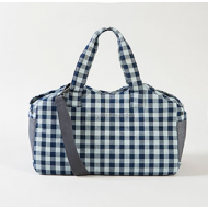 Tote Bag - Indigo Gingham