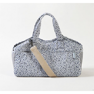 Tote Bag - Indigo Flowers