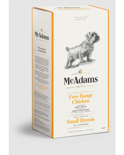 McAdams Dry Food for Small Dogs