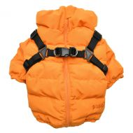 Soft Jumper Harness Coat Orange