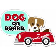 Dog on Board Car Decal