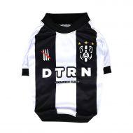 Dog Football Shirt - Black and White