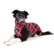 Stretch Onesie - Red Tartan