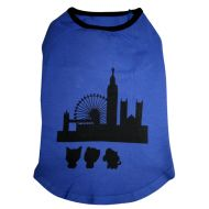 Blue London Skyline Top