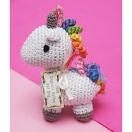 Organic Handmade Unicorn Dog Toy