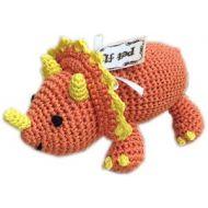 Organic Handmade Dinosaur Dog Toy