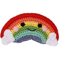 Organic Handmade Rainbow Dog Toy