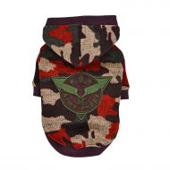 Colonel Knitted Hoodie Wine Camo