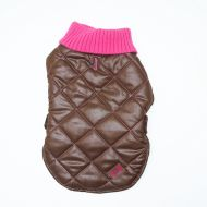 Quilted Coats Brown