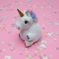 Unicorn Texture Ball Plush