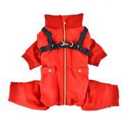 Garnet Ski Suit Red