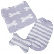 Puppy Gift Set Grey
