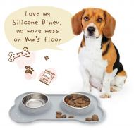 Silicone Diner Grey-Large