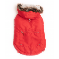 Ski Coat - Cherry Red