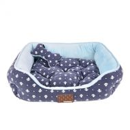Puppia Ernest Bed  Navy-30% Off